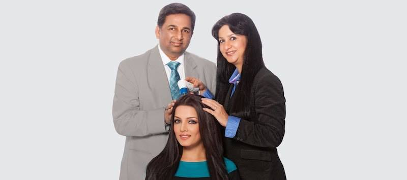 Dr. Apoorva Shah and Dr. Sonal Shah, India's first certified trichologists