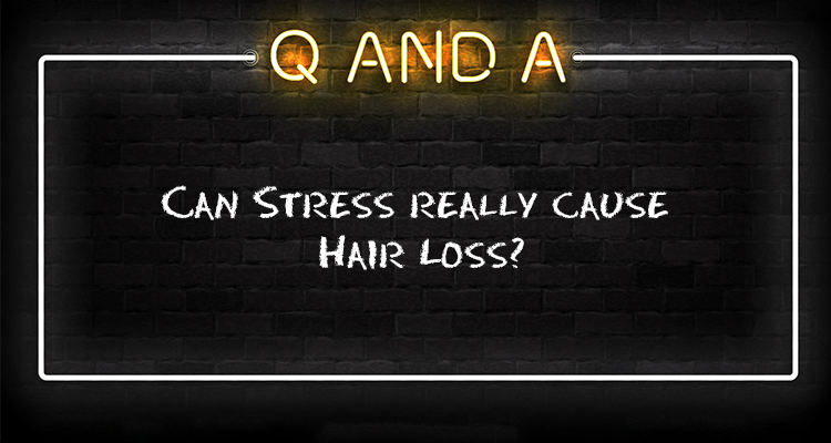 Can stress really cause hair loss?