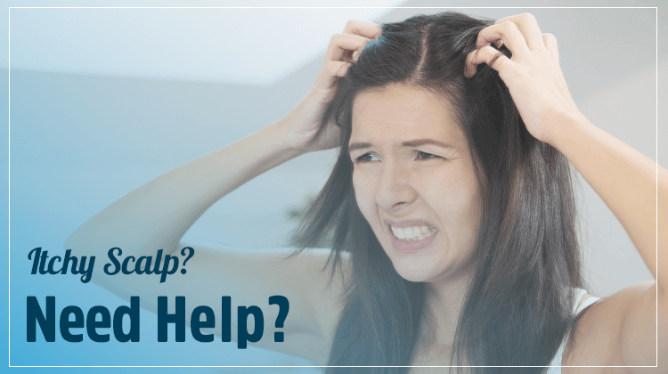 RichFeel Hair Experts advice to tackle an itchy scalp