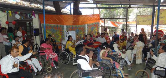 RichFeel CSR Activity Paraplegic – Album1